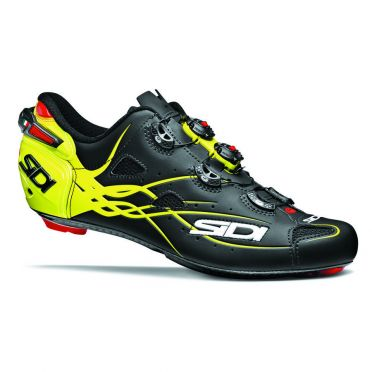 Sidi Shot road shoe black/yellow men