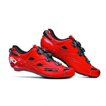 Sidi Shot matt road shoe red men