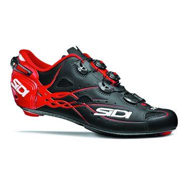 Sidi Shot matt road shoe black/red men