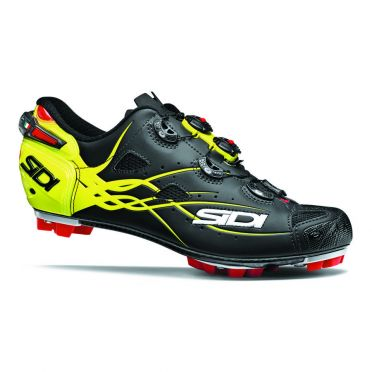 Sidi Tiger matt mountainbike shoe black/yellow