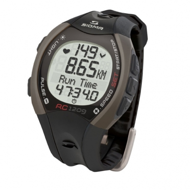 Sigma RC 1209 heart rate monitor black