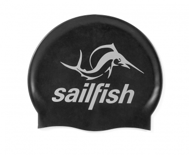 Sailfish Silicone swimcap black