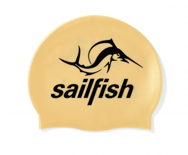 Sailfish Silicone swimcap gold