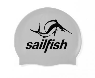 Sailfish Silicone Swimcap silver