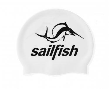 Sailfish Silicone swimcap white