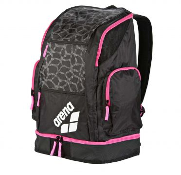 Arena Spiky 2 large backpack black/pink
