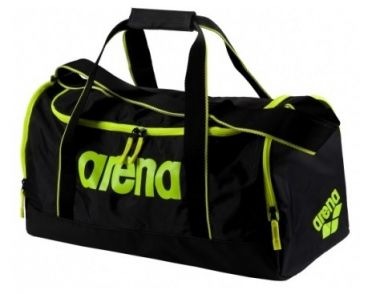 Arena Spiky 2 medium bag black/yellow