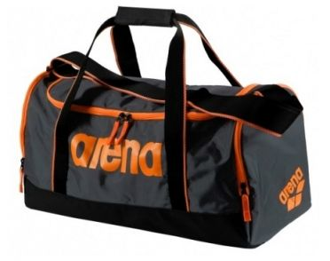 Arena Spiky 2 medium bag grey/orange