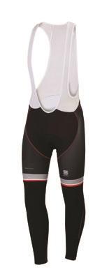 Sportful Bodyfit Pro Thermal Bibtight black-red men 01392-002