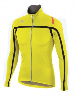 Sportful Fiandre Extreme Neoshell jacket black-yellow