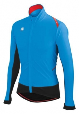 Sportful Fiandre Light Wind Jacket black-blue men 01267-274