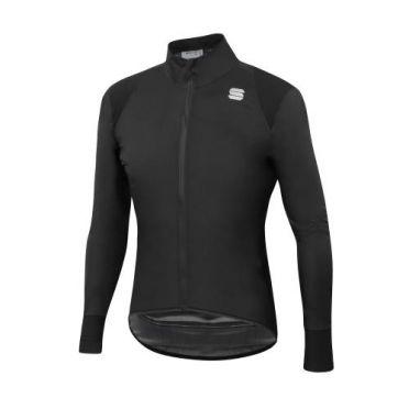 Sportful Hot pack no rain cycling jacket long sleeve black men