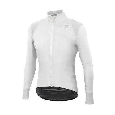 Sportful Hot pack no rain cycling jacket long sleeve white men