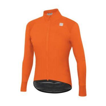 Sportful Hot pack no rain cycling jacket long sleeve orange men