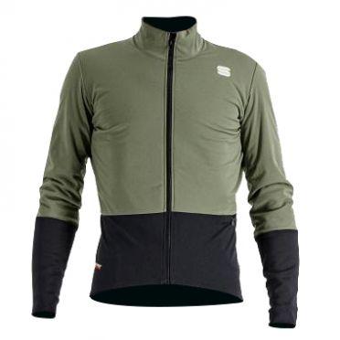 Sportful Total comfort cycling jacket long sleeve green men
