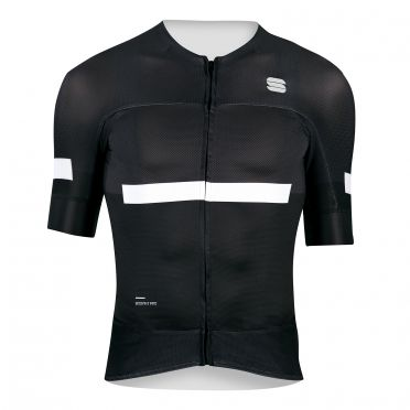 Sportful Evo jersey short sleeves black men
