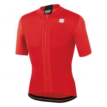 Sportful Strike jersey short sleeves red men