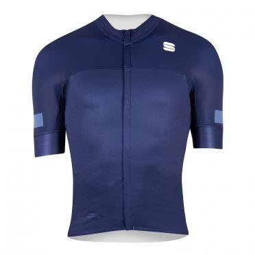 Sportful Classic jersey short sleeves blue men