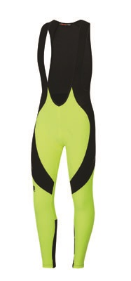 Sportful Flare Bibtight black-yellow men 01401-091