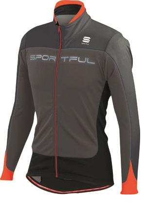 Sportful Flash Softshell Jacket grey-red men 01275-251