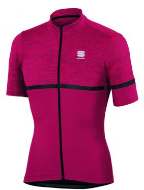 Sportful Giara jersey bordeaux red men