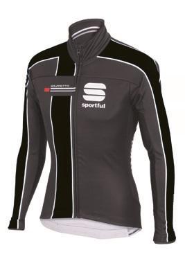 Sportful Gruppetto Partial WS jacket black-grey men 01393-168