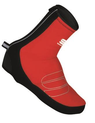 Sportful Reflex WS overshoes black-red 01294-567
