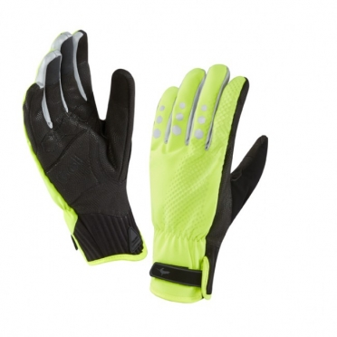 SealSkinz All weather cycle XP gloves yellow/black