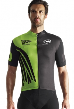 Assos SS.capepicXCJersey_evo7 cycling jersey green men