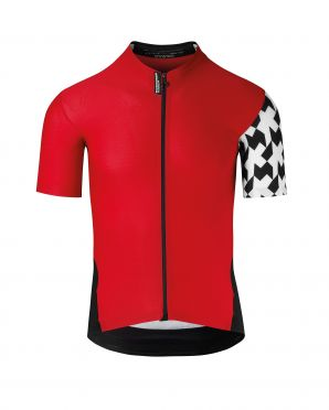 Assos SS.Équipejersey_Evo8 cycling jersey red men