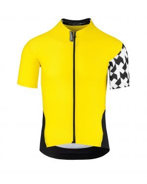 Assos SS.Équipejersey_Evo8 cycling jersey yellow men
