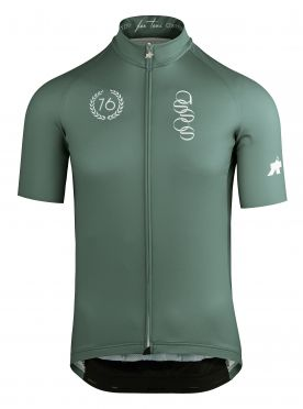 Assos ForToni short sleeve cycling jersey green men