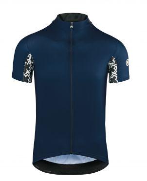 Assos Mille GT short sleeve cycling jersey blue men
