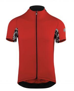 Assos Mille GT short sleeve cycling jersey red men