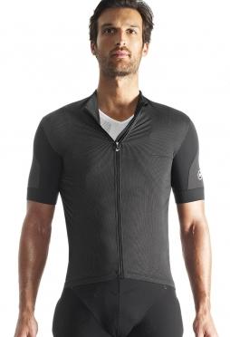 Assos SS.rallytrekkingJersey_evo7 cycling jersey black men + NS.skinFoilSummer_evo7