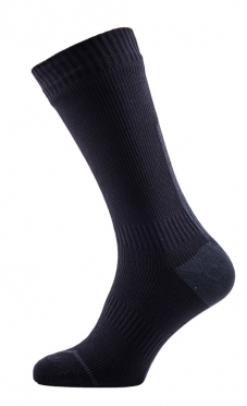 Sealskinz Road thin mid hydrostop cycling socks black/anthracite unisex