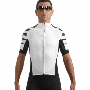 Assos SS.cento cycling jersey white men