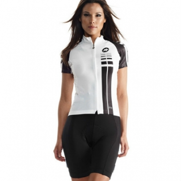 Assos SS.Lady cycling jersey white women