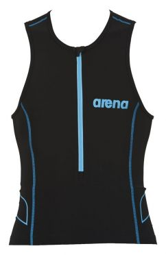 Arena ST sleeveless tri top black men