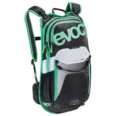 EVOC Stage team 12 liter backpack black/green