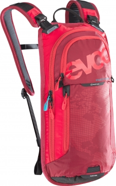 Evoc Stage 3L + 2L bladder backpack red