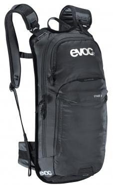 Evoc Stage 6L + 2L bladder backpack black