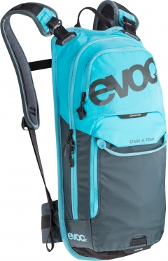 Evoc Stage team 6L + 2L bladder backpack blue