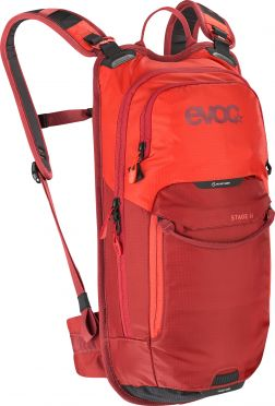 Evoc Stage 6L + 2L bladder backpack red