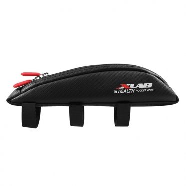 XLAB Stealth pocket 400c top tube bag carbon