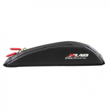 XLAB Stealth pocket 500c top tube bag carbon