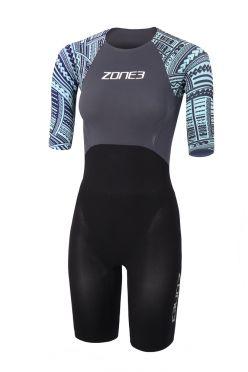 Zone3 short sleeve swim skin women