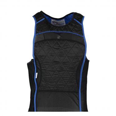 TechNiche KewlShirt evaporative cooling tank top black/blue