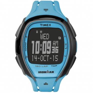 Timex Sleek 150 blue 46mm