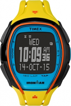 Timex Sleek 150 Block Yellow 46mm